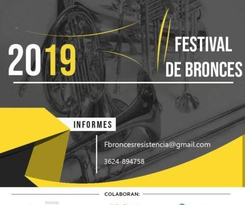 Este fin de semana se realizará el Festival de Bronces Resistencia