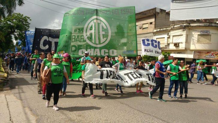 Paro nacional: ATE Chaco para y se moviliza este martes