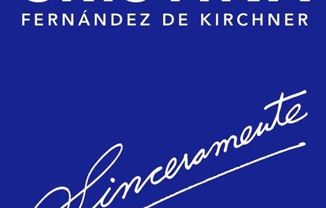 """Cristina prepara el lanzamiento de su libro """"Sinceramente"""""""