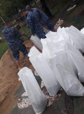 Emergencia hídrica: la Policía trabaja en forma conjunta con otros organismos 1