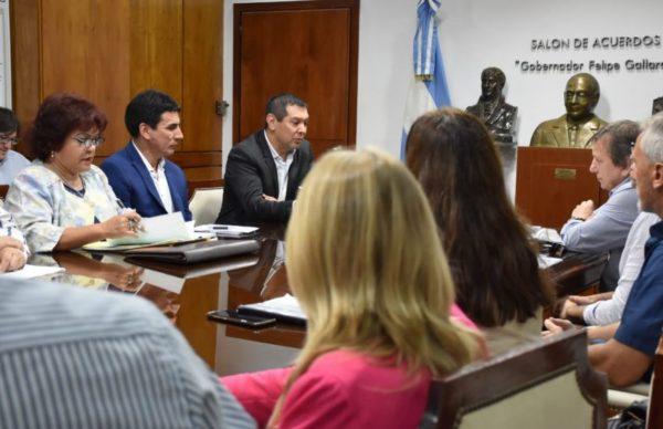 Gobierno y referentes del Poder Judicial procuran la mejora salarial del sector