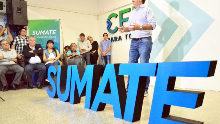 Gustavo Martínez presentó Sumate, para que los vecinos sean parte de la transformación de Resistencia