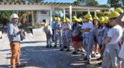 """""""No al derroche"""": Sameep inició su ciclo de visitas a la planta potabilizadora"""