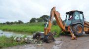 Resistencia: cesó la alerta por lluvias y continúan las tareas de limpieza y recolección de restos verdes