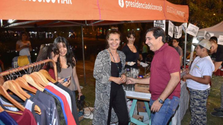 Se realizó una nueva feria de emprendedores de Chaco Puro Talento