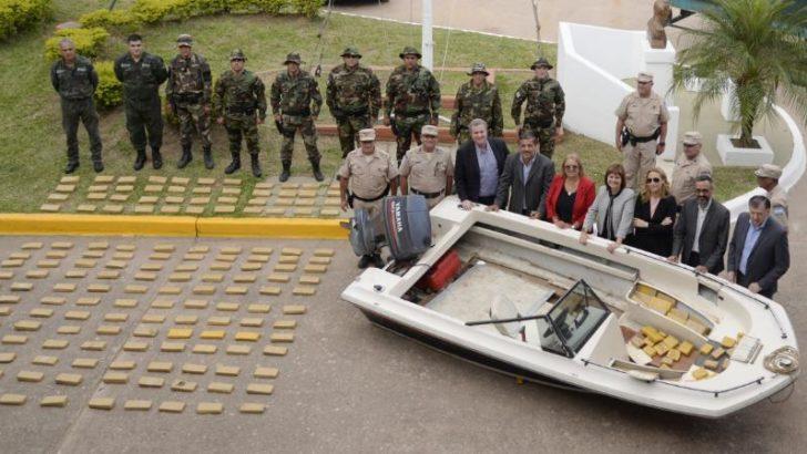 Secuestran más de 400 kilos de marihuana y detuvimos a dos narcotraficantes