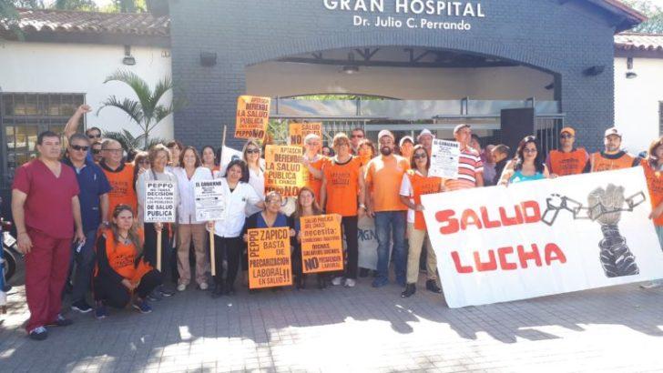 Trabajadores de la Salud Pública pidieron por mejoras salariales y condiciones laborales