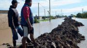 Aseguran que los trabajos en la defensa norte de Villa Ángela ayudaron a contener el agua