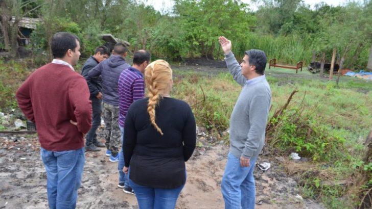 Barrio Zampa: el intendente dialogó con vecinos antes del operativo de intervención integral