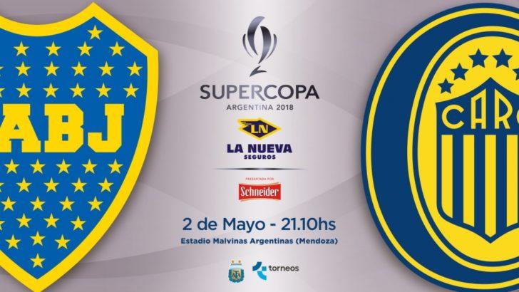 Boca y Central, cara a cara, por la Supercopa Argentina