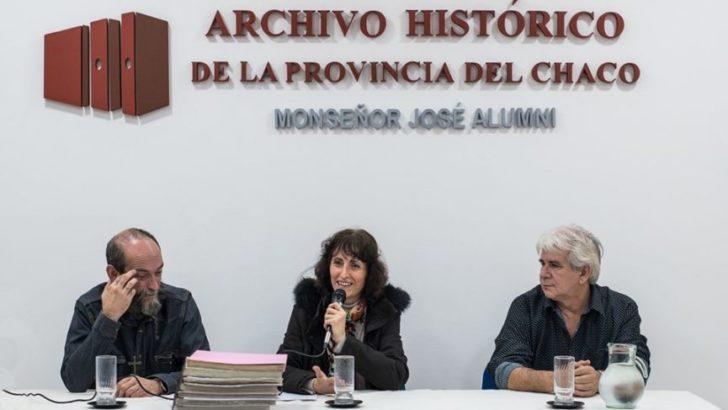 Marina Nill donó material bibliográfico al Archivo Histórico