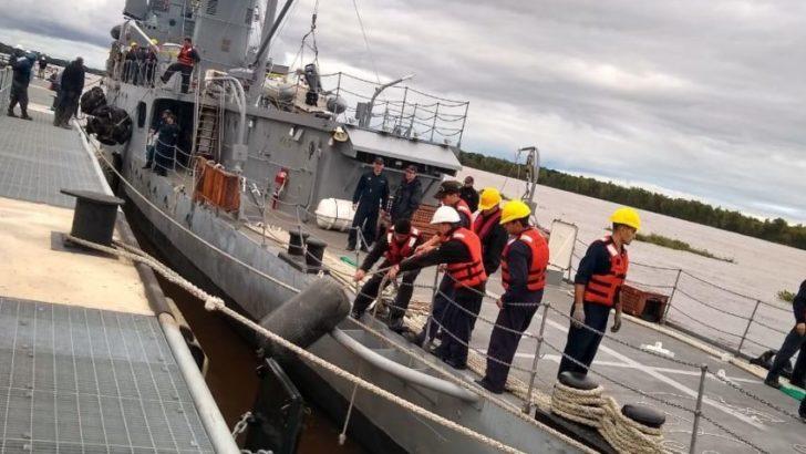 Puerto Las Palmas: amarró una embarcación por primera vez