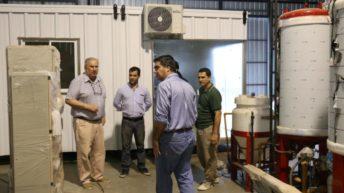 Capitanich recorrió la fábrica BIOENERGY que produce plantas de biodiesel en Fontana