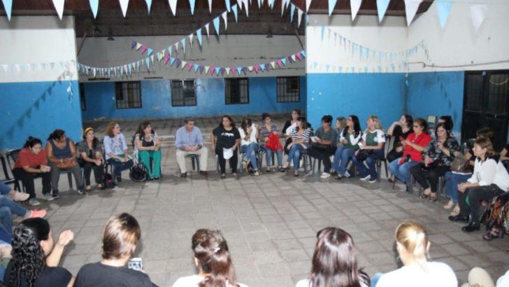 Capitanich y mujeres del campo nacional y popular analizaron políticas inclusivas