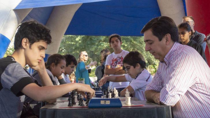 Copa Futuro: arrancó el ajedrez