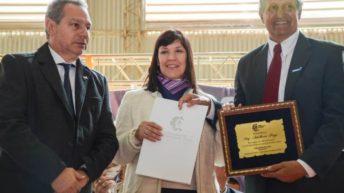 Cuesta: «El pueblo de Villa Ángela tiene que saber que no está solo»