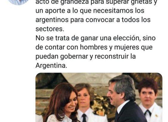 """Domingo Peppo: """"La decisión de Cristina es un acto de grandeza"""""""