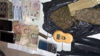 Drogas peligrosas: secuestros y detenidos, en 17 procedimientos