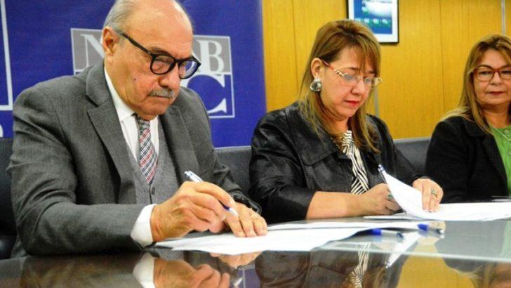 Educación y NBCh firmaron convenio para promover la cultura del ahorro en estudiantes
