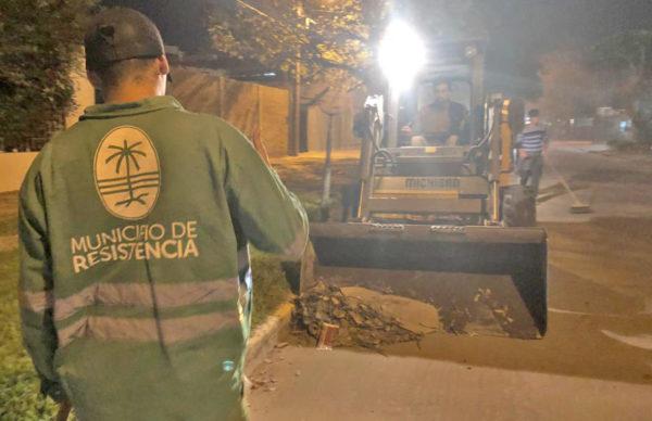 El municipio intensifica su programa de barrido de calles y avenidas
