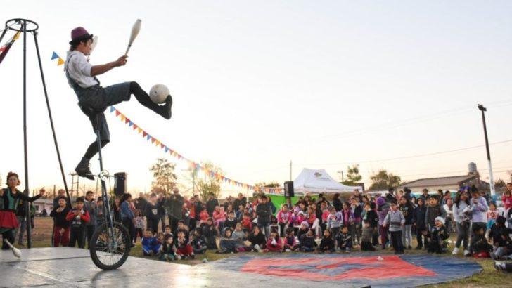 Este fin de semana, Chaque el Circo recorre los barrios con sus espectáculos gratuitos