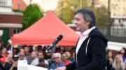 Máximo Kirchner: «Alberto Fernández tiene la responsabilidad de llevarnos a la victoria»