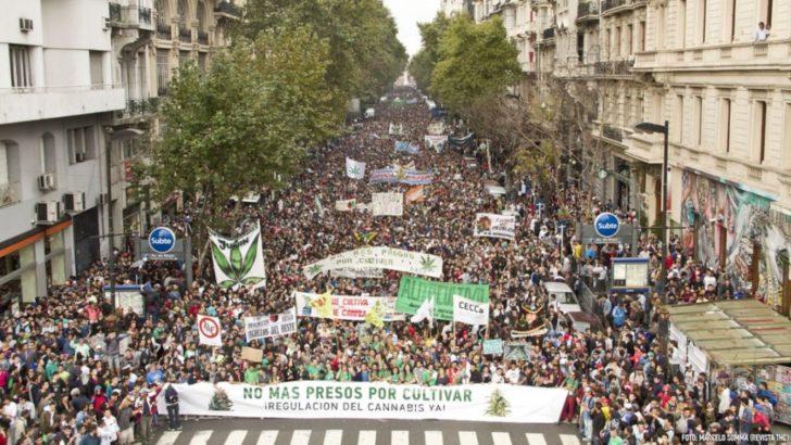 Miles fueron los que marcharon por la legalización de la marihuana