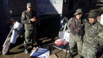 Pampa del Infierno: tenía un cachorro de puma en cautiverio y varios kilos de carne faenada