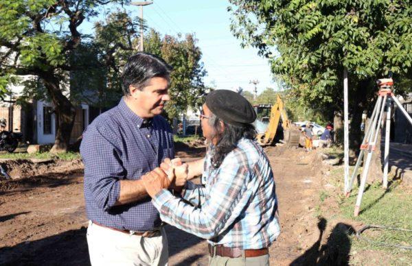 Pavimento urbano: avanzan las obras en avenida Edison, calle Distorto y Villa Prosperidad 1