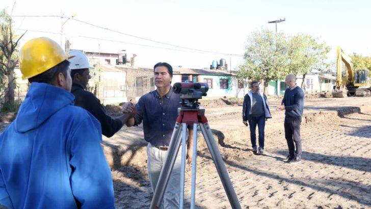 Pavimento urbano: avanzan las obras en avenida Edison, calle Distorto y Villa Prosperidad