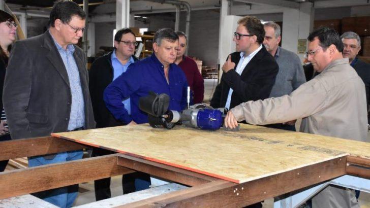 Peppo destacó el modelo alternativo de viviendas de madera