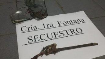Prófugo lesionó a dos agentes al ser recapturado