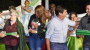 Reconocieron como vecinos favoritos de La Liguria a Inés Bugliolo y Matías Chejolán