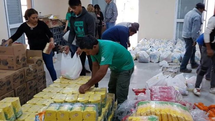Taco Pozo: se inició el mega operativo de asistencia humanitaria por la emergencia hídrica