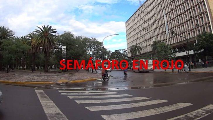 Tránsito: endurecen los controles en los semáforos para prevenir siniestros