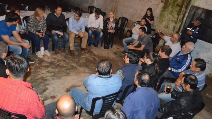 Villa Libertad y Zampa 2: municipio y vecinos coordinan plan de trabajo conjunto