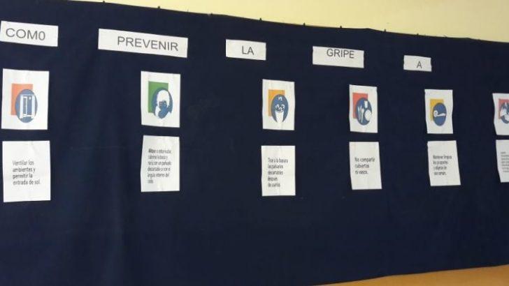 Educación acompaña a las comunidades educativas con recomendaciones ante casos de Gripe A