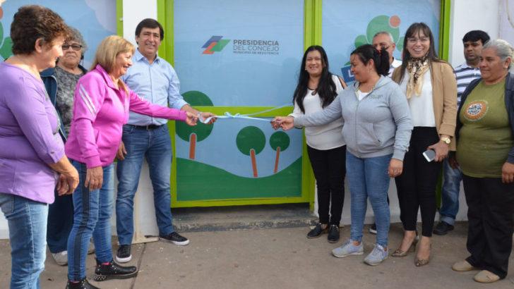 Presidencia del Concejo: inauguraron el Centro de Pensionados La Colonia