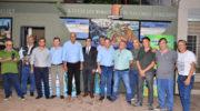 Presidencia del Concejo: se inauguró un mural en homenaje a ex combatientes de Malvinas