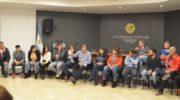 Capitanich con trabajadores legislativos: explicó la propuesta de reforma constitucional