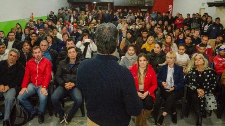 """Capitanich: """"Vengo a ofrecer mi corazón y experiencia para que la fórmula Fernández-Fernández gane las PASO contundentemente"""""""