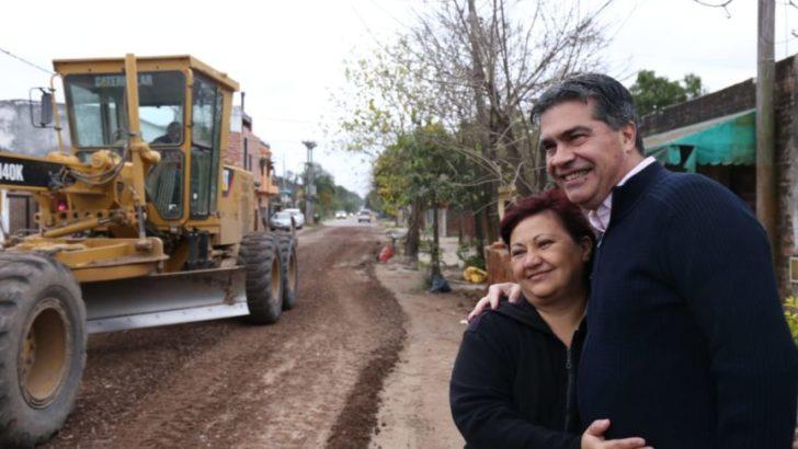 El municipio mejora las calles y ejecuta trabajos de ripio en la Villa Federal