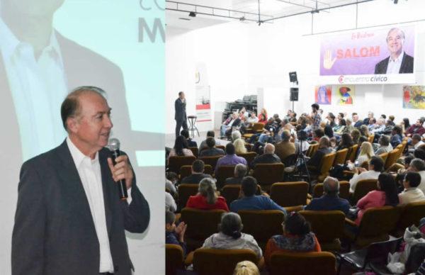 Encuentro Cívico no se achica: Carlos Salom lanzó su candidatura a intendente de Resistencia 1