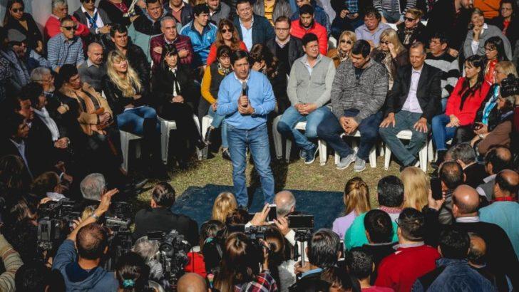 Gustavo Martínez se inclinó por las reelecciones de Domingo Peppo y los intendentes