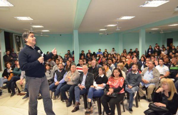 """Intendentes apoyan a Peppo y Capitanich advirtió que prefiere """"no ser esclavo de las corporaciones"""" 1"""