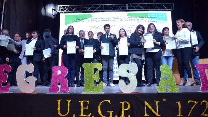 La UEGP N° 172 entregó títulos terciarios a más de 500 nuevos profesionales