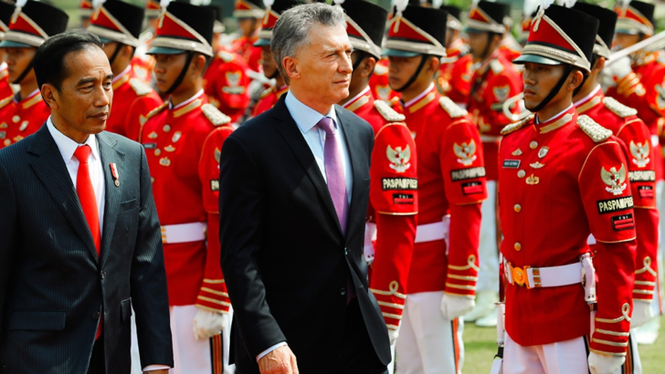 Macri en Indonesia: es «un socio comercial clave para el presente y el futuro»