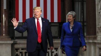 May y Trump aspiran a un acuerdo tras el Brexit