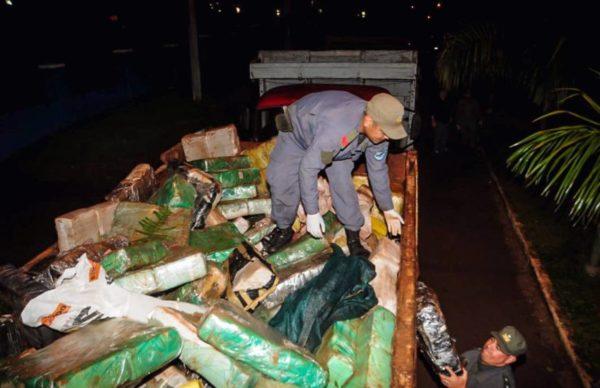 Misiones: Gendarmería secuestró más de 6 toneladas de marihuana