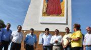 Peppo inauguró el portal de acceso a Puerto Bermejo